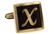 Egypt stylish letter X cufflinks