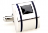 Black Cambridge cufflinks