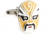 GUILIN opera mask cufflinks