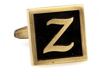 Egypt stylish letter Z cufflinks
