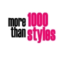 More than 1000 styles