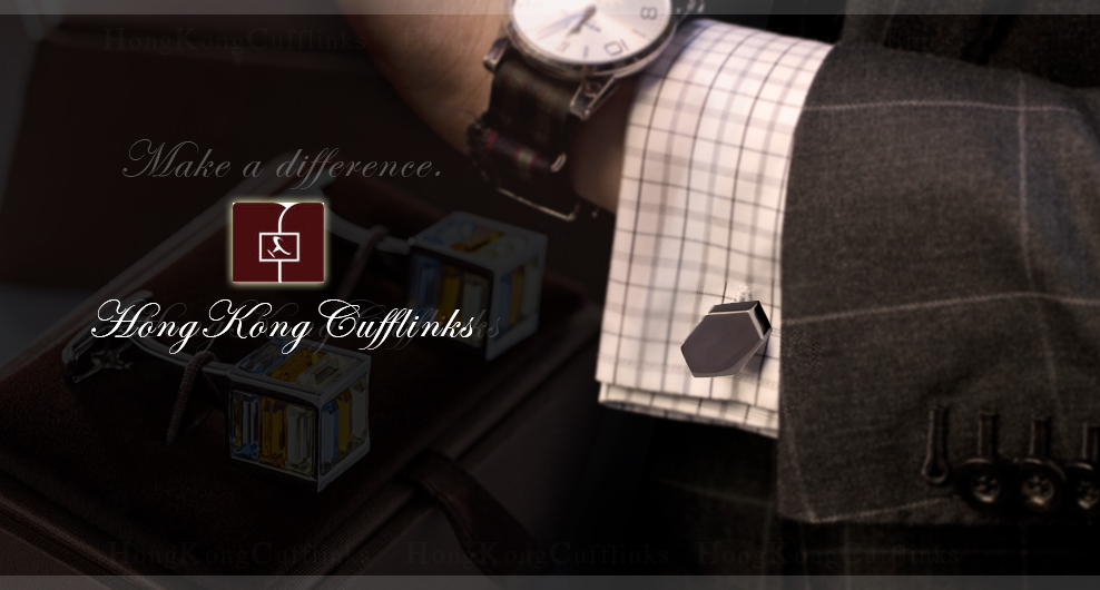 HKcufflinks - make a difference!